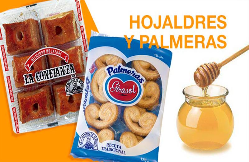 HOJALDRES Y PALMERAS