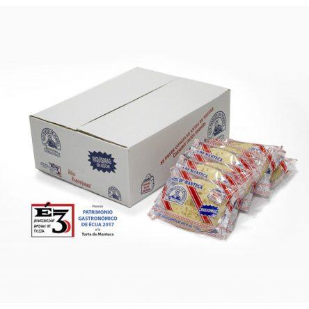 Tortas de Manteca. Caja de 30 uds.
