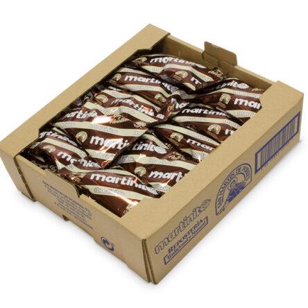 Martinitos de Cacao y Avellanas. Caja de 30 uds.